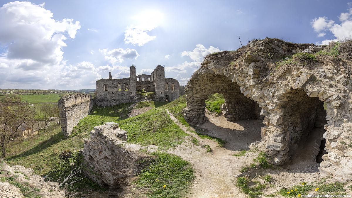 Атлас Тернопілля: історія та сьогодення Скали над Збручем